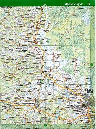 Подробная Карта Невельского Района Псковской Области